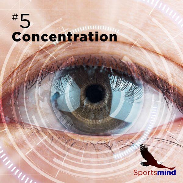 Sportsmind Audio 5-Concentration